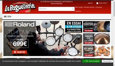 Site internet de La Baguetterie
