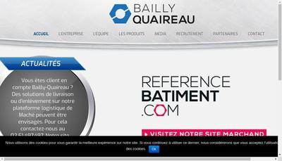 Site internet de Bailly Quaireau