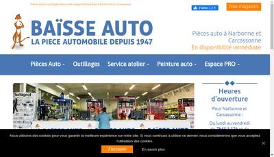 Site internet de Baisse Auto