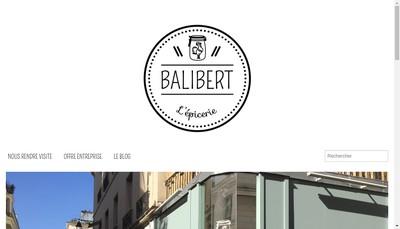 Site internet de Balibert