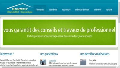 Site internet de Barmoy Etancheite Couverture