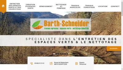 Site internet de Entreprise de Travaux Agricoles Barth Schneider