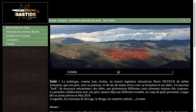 Site internet de SARL Bastide
