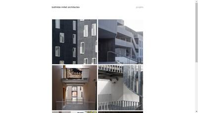 Site internet de Bathilde Millet Architecte