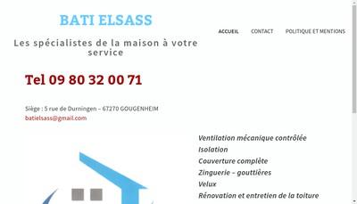 Site internet de Bati Elsass
