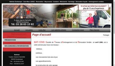 Site internet de Bati Star