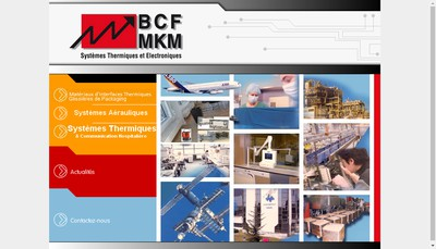 Site internet de Bcf Mkm
