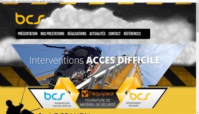 Site internet de Bleu Ciel Services l'Equipeur Bcs I