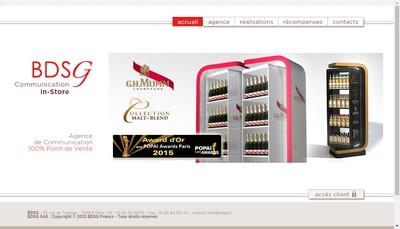 Site internet de Bdsg