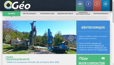 Site internet de Ogeo