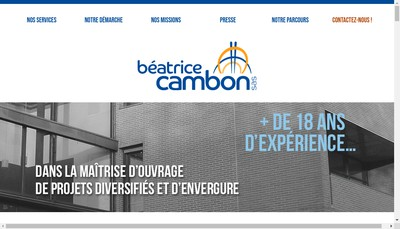 Site internet de Beatrice Cambon