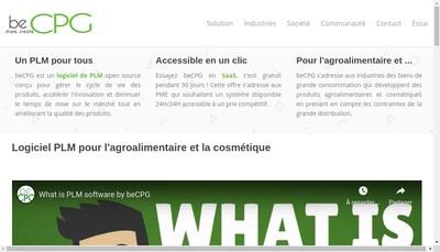 Site internet de Becpg