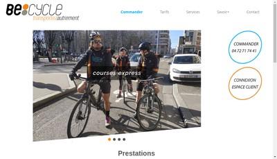 Site internet de Becycle Lyon