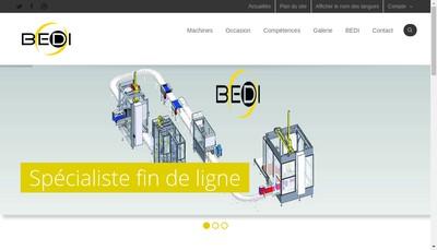 Site internet de Bedi