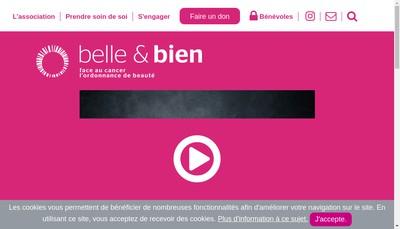 Site internet de Belle & Bien