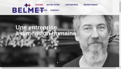 Site internet de Belmet- Amd Belmet