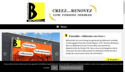 Site internet de Beltramelli