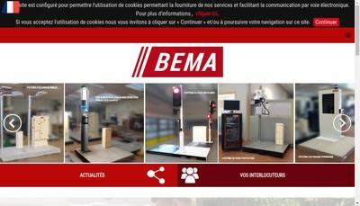 Site internet de Bema