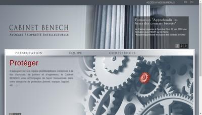 Site internet de Cabinet Benech