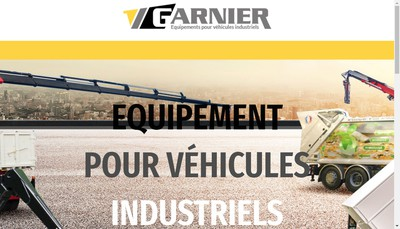 Site internet de Garnier