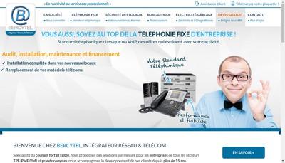 Site internet de Bercytel