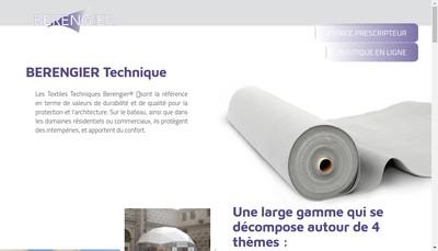 Site internet de Berengier SA