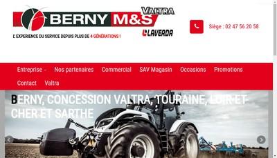 Site internet de Berny M & S
