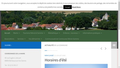 Site internet de Le Bosphor