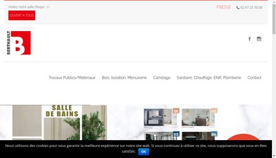Site internet de Berthault