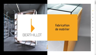 Site internet de Berthillot