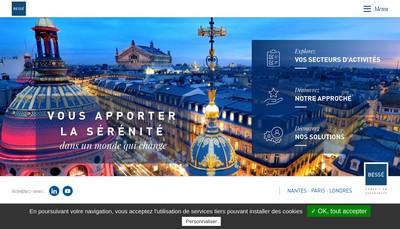 Site internet de SA Courcelles Prevoyance