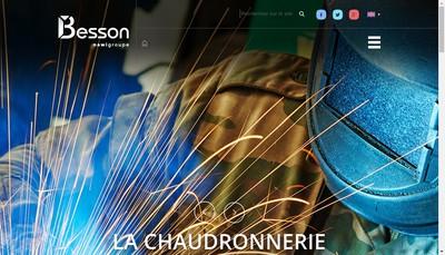 Site internet de Charles Besson SA