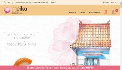 Site internet de Mei Ko