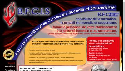 Site internet de Bfcis