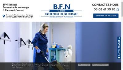 Site internet de Bfn Services