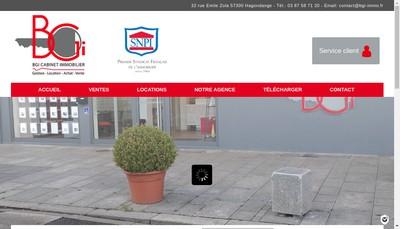 Site internet de EURL Bgi