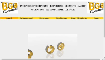 Site internet de Bgo Consultants