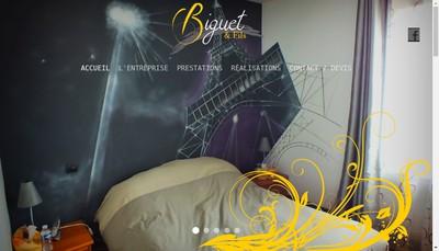 Site internet de Biguet et Fils