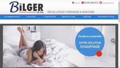 Site internet de Bilger et Fils