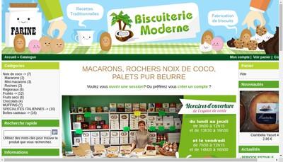 Site internet de Biscuiterie Moderne SA