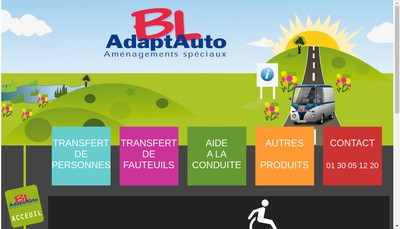 Site internet de Bl Adaptauto