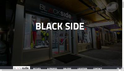 Site internet de SARL Black Side
