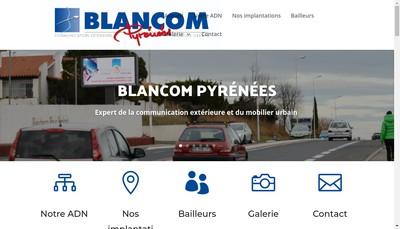 Site internet de Blancom