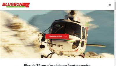 Site internet de Blugeon Helicopteres