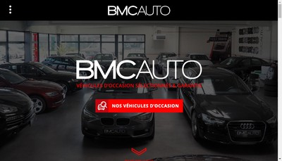 Site internet de Bmc Auto
