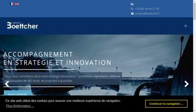 Site internet de Cabinet Boettcher