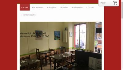 Site internet de Bon Mange Creole