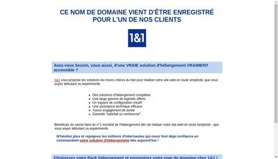 Site internet de Bonnieu Expertise
