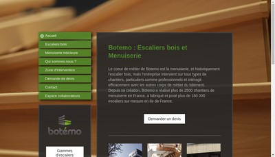 Site internet de Botemo
