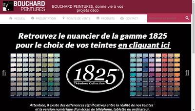 Site internet de Bouchard Peintures